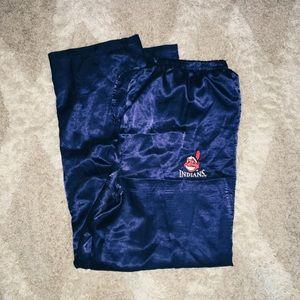 Other - Cleveland Indians silk pajama bottom